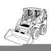 Color Skid Steer Clipart Image
