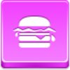 Free Pink Button Hamburger Image