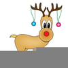 Rodolph Red Nosed Clipart Image