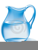 Clipart Water Pitcher Vector Image