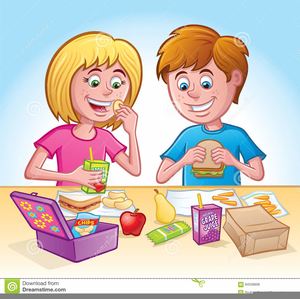 School Lunchtime Clipart