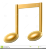 Musical Notes And Clipart Image