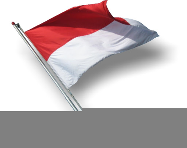Clipart Bendera Indonesia Free Images At Clker Com Vector Clip