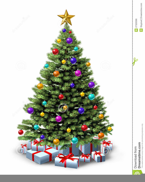 Clipart Christmas Tree.Free Clipart Christmas Tree Presents Free Images At Clker