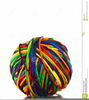 Free Yarn Ball Clipart Image