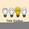 Think Positive Clipart Image