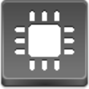 Free Grey Button Icons Chip Image
