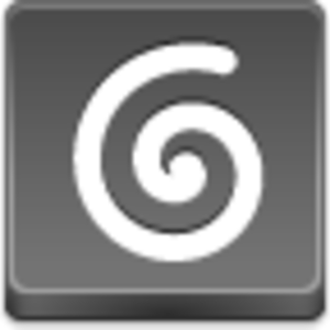 Free Grey Button Icons Spiral Image