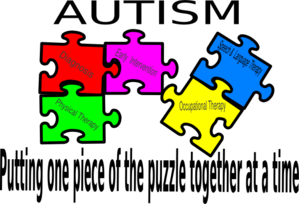 Putting One Piece Of The Puzzle Together At A Time Clip Art