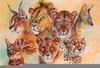 Clipart Wild Cats Image