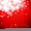Red Snowflakes Clipart Image