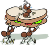 Family Picnic Clipart Image