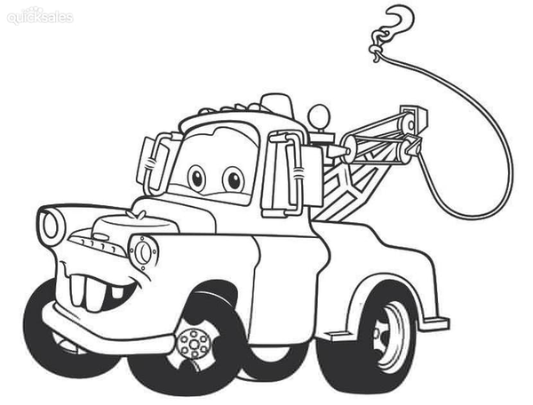 Disney Cars Clipart Mater Free Images At Clker Com