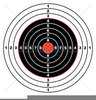 Rifle Target Clipart Image