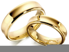 Clipart Of Gold Wedding Bands Image