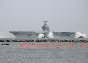 Uss George Washington (cvn 73) Returns To Its Homeport In Norfolk, Va. Image