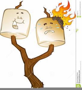 Bonfire Smores Clipart - S'more - Free Transparent PNG Clipart Images  Download