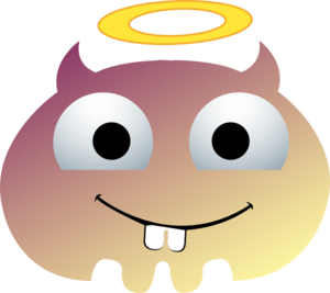 Angel Monster Cartoon  Clip Art