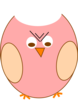 Angry Owl 2 Clip Art