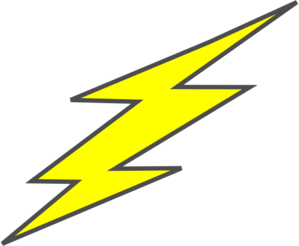 Straight Flash Bolt Clip Art at Clker.com - vector clip ...