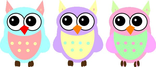 pastel baby owls clip art at clker com vector clip art online rh clker com cute baby owl clip art baby shower owl clip art