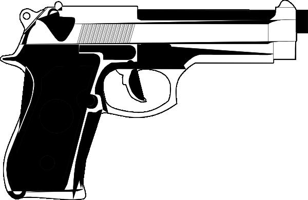 Handgun Clip Art at Clker.com - vector clip art online ...