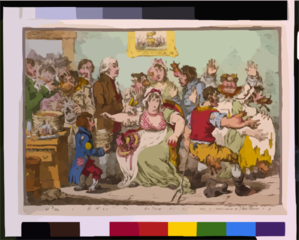 The Cow-pock - Or - The Wonderful Effects Of The New Inoculation  / Js. Gillray, Del. & Ft. Clip Art