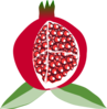 Pomegranate Fruit Clip Art