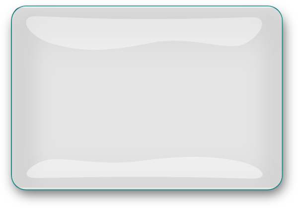 White Glossy Rectangle Button Clip Art at Clker.com ... White Rectangle Png
