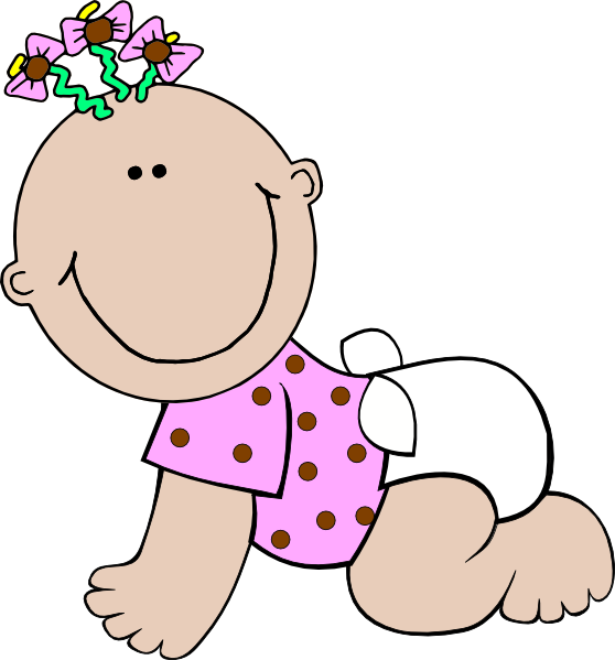 clipart of baby girl - photo #9