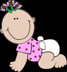 baby girl polka dot clip art at clker com vector clip art online rh clker com free baby girl clip art baby shower free baby girl clip art images