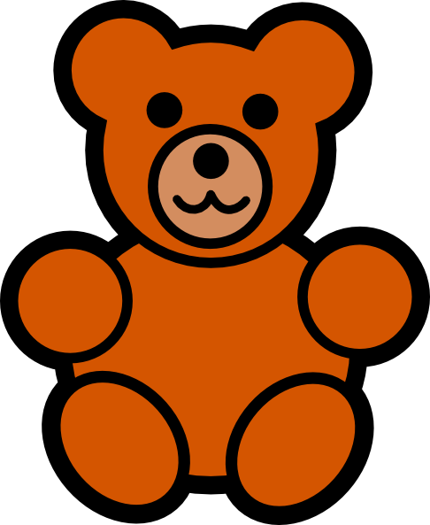 Bear Clip Art at Clker.com - vector clip art online, royalty free ...