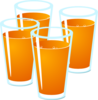 Orange Juice Clip Art