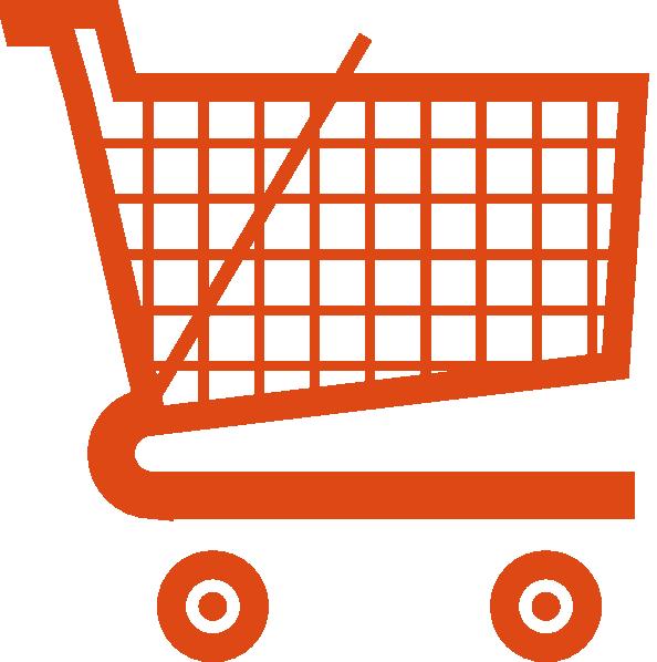 Orange Shopping Cart clip artOnline Shopping Cart Logo Png