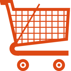 orange shopping cart clip art at clker com vector clip art online rh clker com