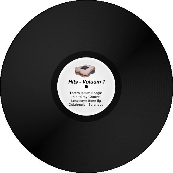 Vinyl Lp Record Album Clip Art at Clker.com  vector clip art online