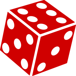 Six Sided Dice Clip Art