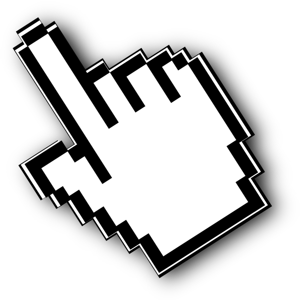 Mouse hand cursor png - photo#12