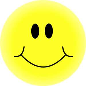 yellow smiley face clip art at clker com vector clip art online rh clker com happy face clip art free happy face clipart images