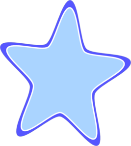 Rounded Star Clip Art