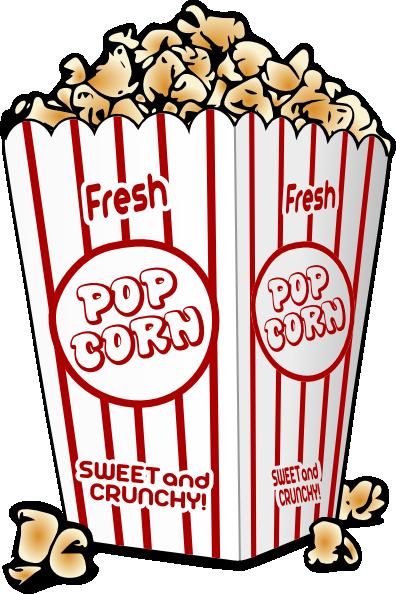Popcorn Clip Art At Clkercom Vector Online Royalty Free