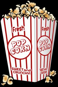 popcorn clip art at clker com vector clip art online royalty free rh clker com clipart popcorn box clipart popcorn bag