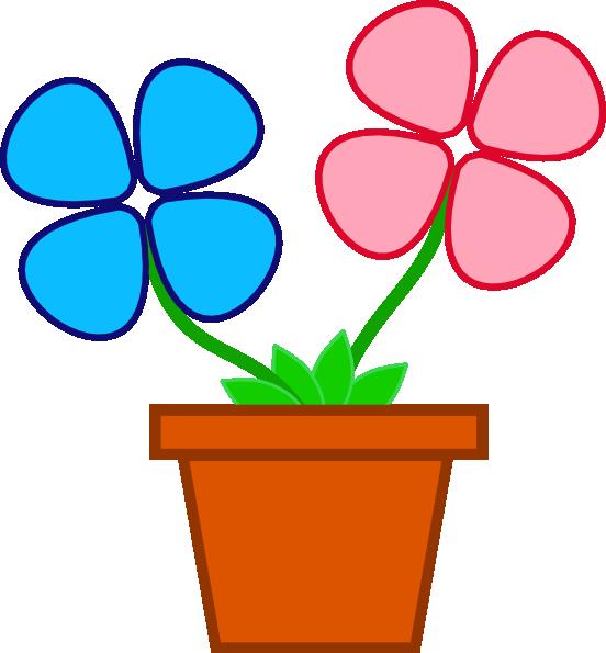 Flower Pot Clipart Png Flower Pot Vector Png Png