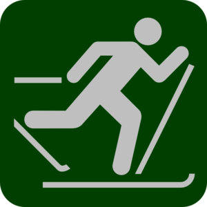 Dartmouth Skier 4 Clip Art