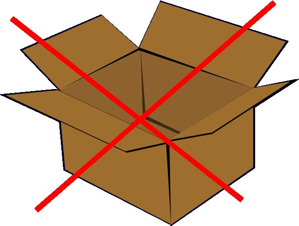 No Boxes Clip Art at Clker.com - vector clip art online, royalty free ...