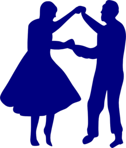 Couple Dancing Clip Art