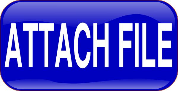 Blue Attach File Rectangle Button Clip Art at Clker.com ...