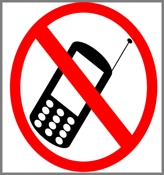 no cell phone clipart free - photo #12