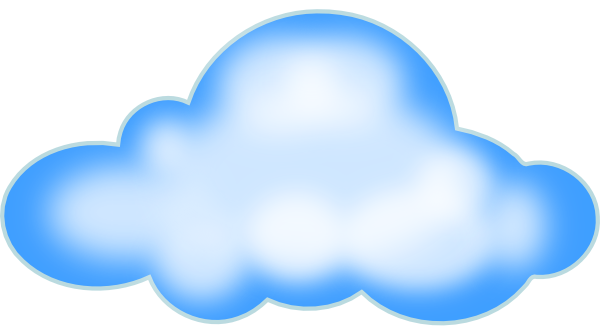 cloud clip art at clker com vector clip art online royalty free public domain clker