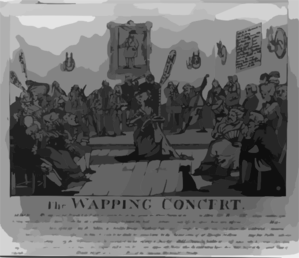 The Wapping Concert Clip Art